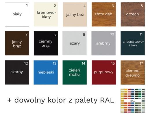 Najwięcej kolorów bez dopłat