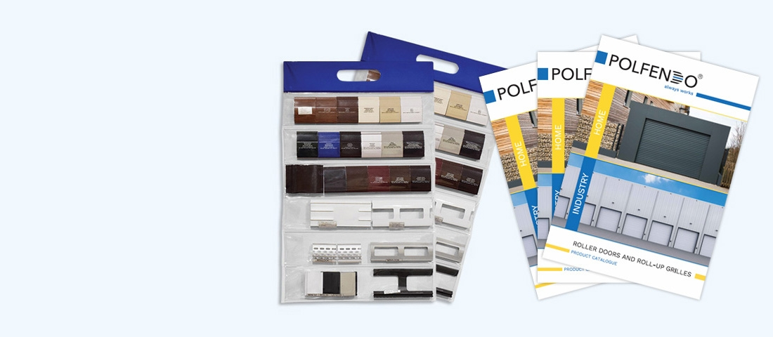Sample books and catalogues to make selling easier