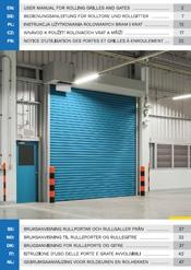 Bedienungsanleitung für Rolltore und Rollgitter