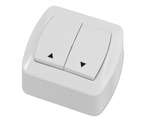 Łącznik kierunkowy klawiszowy natynkowy
