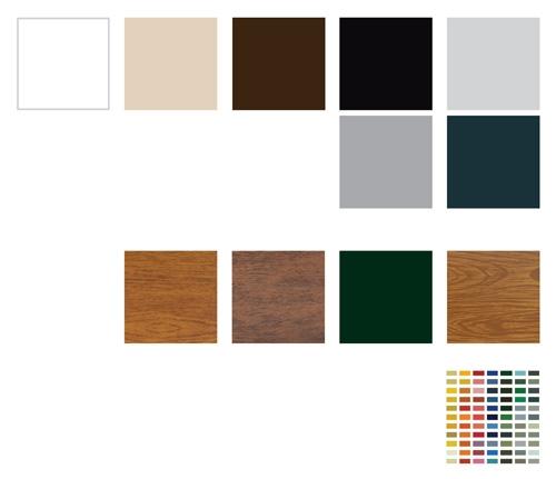 Mini 52, Mini 55 - kolory