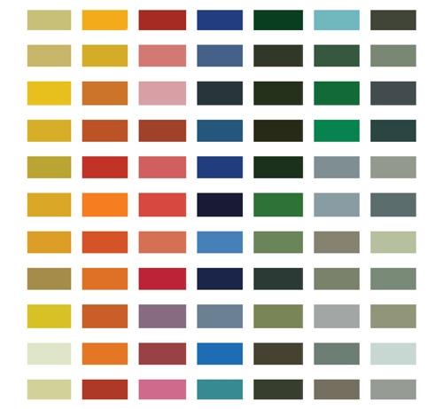 Easylook 84 - kolory