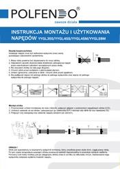Instrukcja montażu napędów KraftMaster