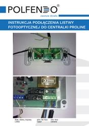 Instrukcja podłączenia listwy fotooptycznej