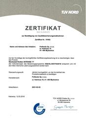 Zertyfikat