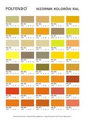 Wzornik kolorów RAL
