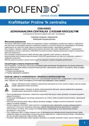 KraftMaster Proline 1k centralka