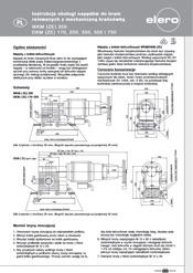 Instrukcja podłączenia napędu bocznego Elero