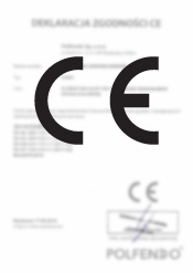 Deklaracja zgodności - lampa F6000