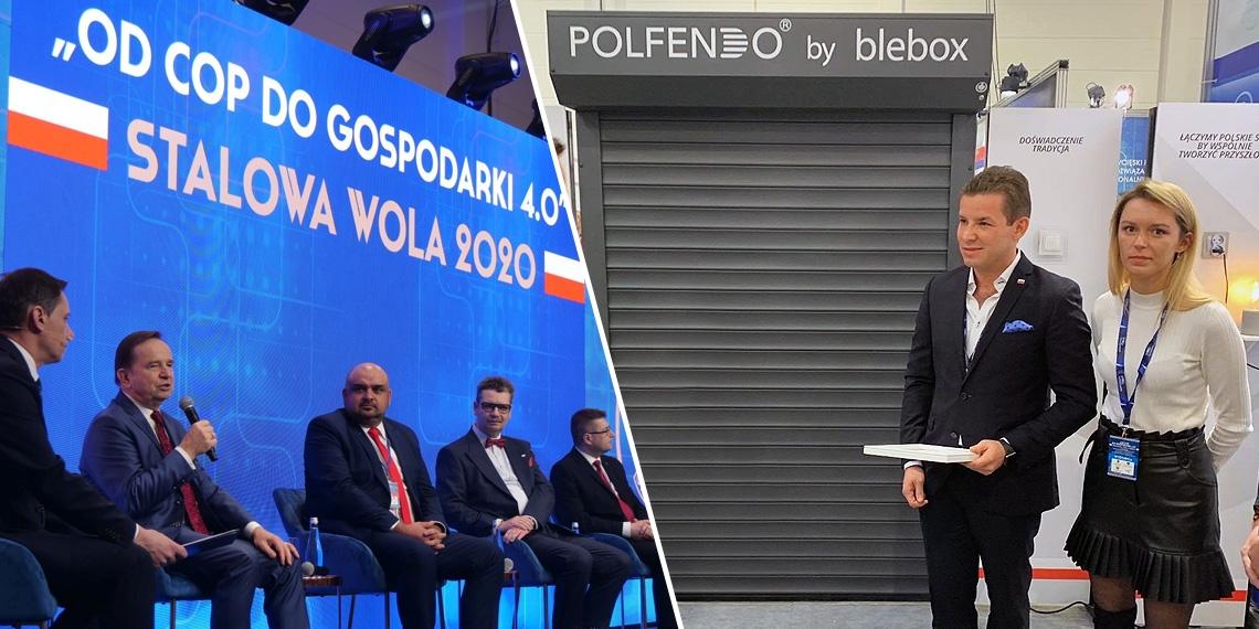 """Polfendo na Polskiej Wystawie Gospodarczej: """"Od COP do Gospodarki 4.0"""" Stalowa Wola 2020"""