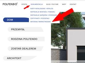 Materiały marketingowe Polfendo