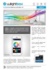 Smart RGB + W LED light