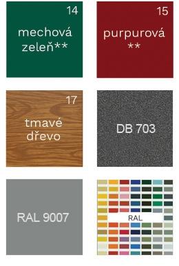 Vyberte si svou barvu