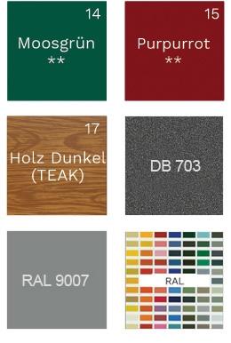 Richtige Farbe wählen
